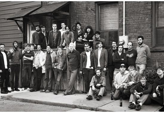 Three Gut Records Family Photo
