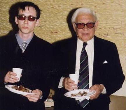 with Aldo Parisot 2002