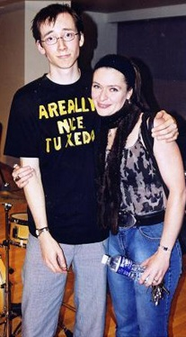 With Shauna Rolston 2002