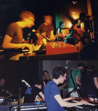 With the Constantines 2004