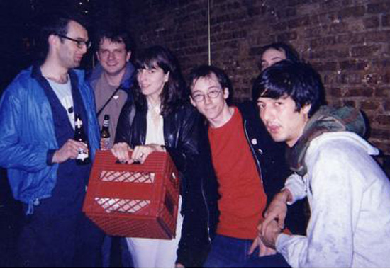 With Fiery Furnaces 2003