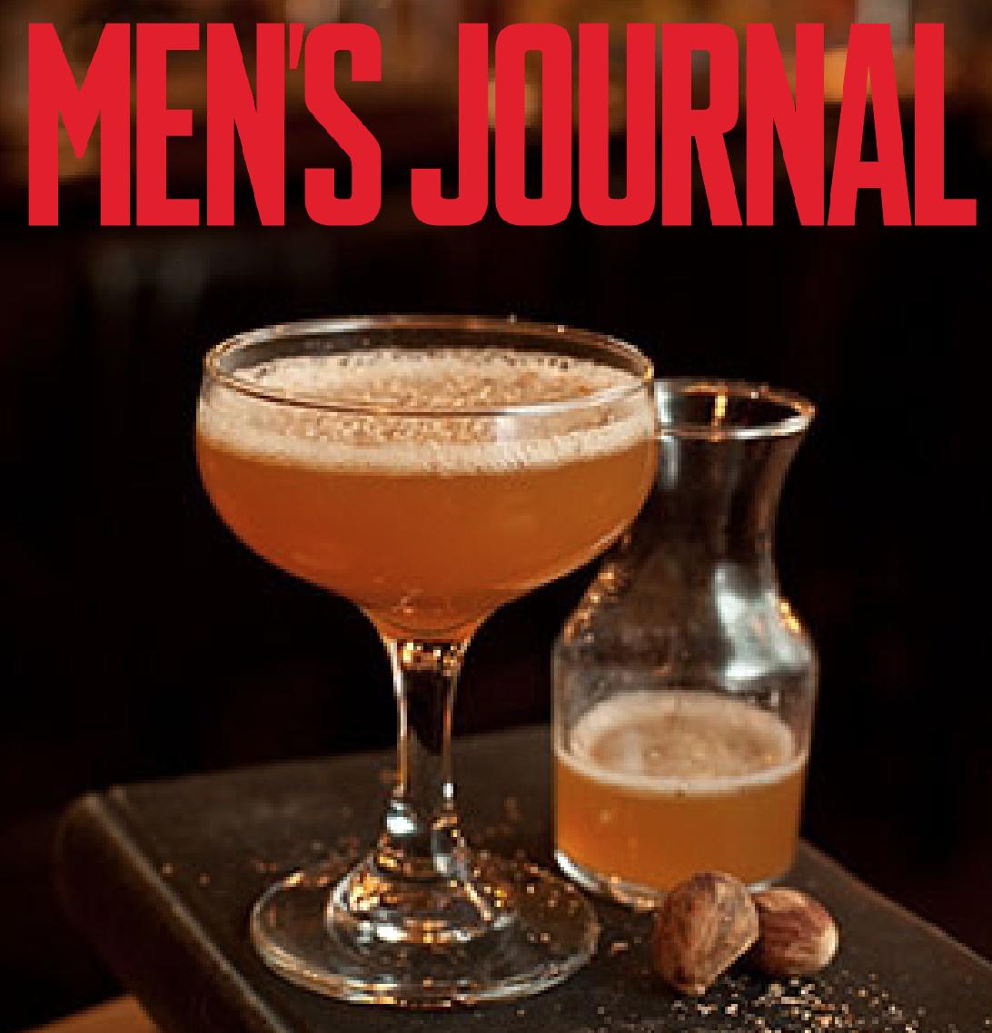 Men's Journal features a delicious cocktail featuring Belle Meade Bourbon