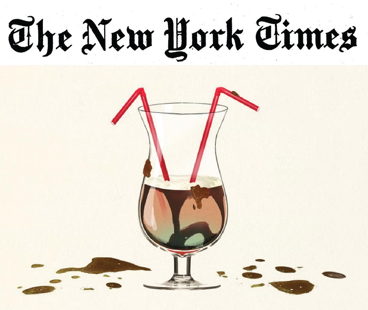 Belle Meade Bourbon Mississippi Mudslide Cocktail in the New York Times
