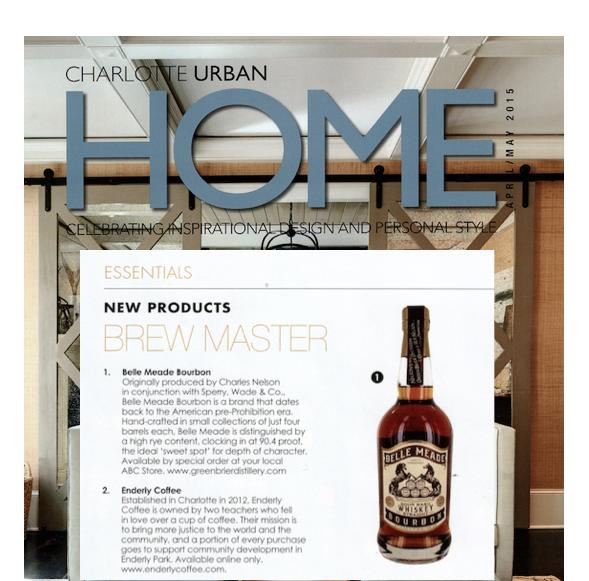 Belle Meade Bourbon: Brewmaster Essentials (via Charlotte Urban Home)