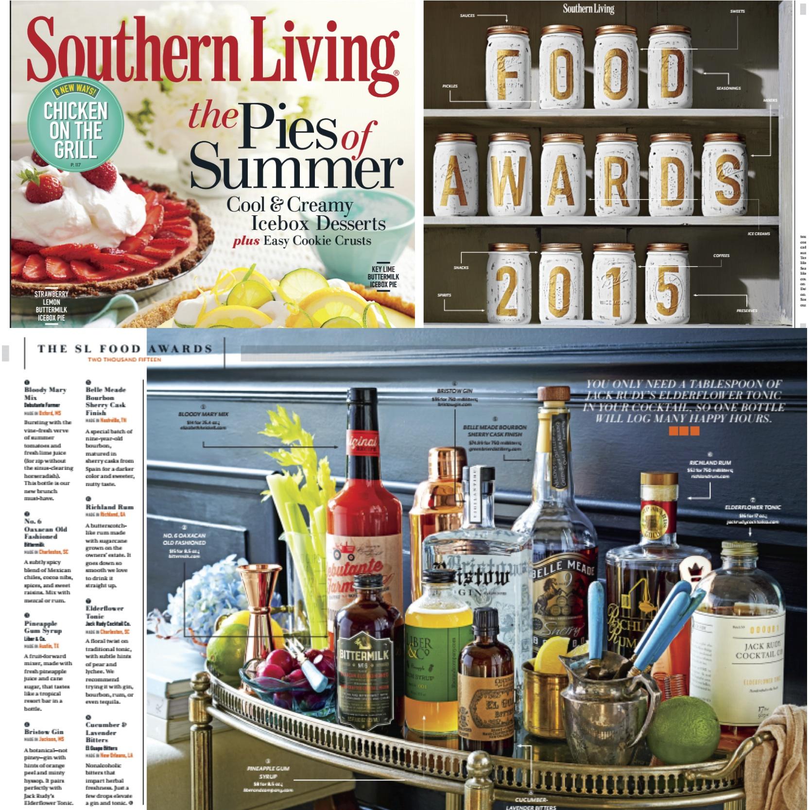 Belle Meade Bourbon wins 2015 Southern Living Food Award