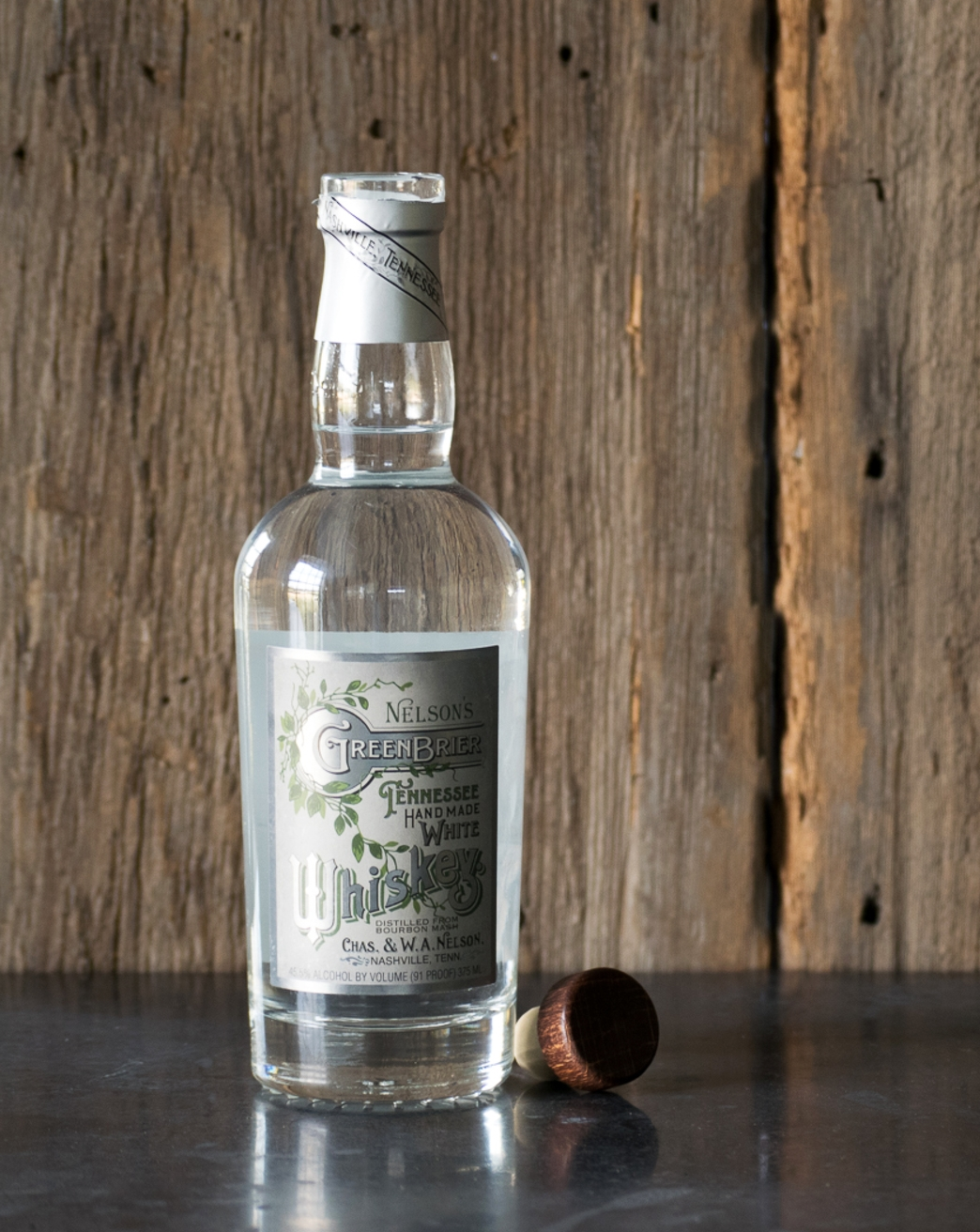 Nelson's Green Brier Distillery Tennessee White Whiskey