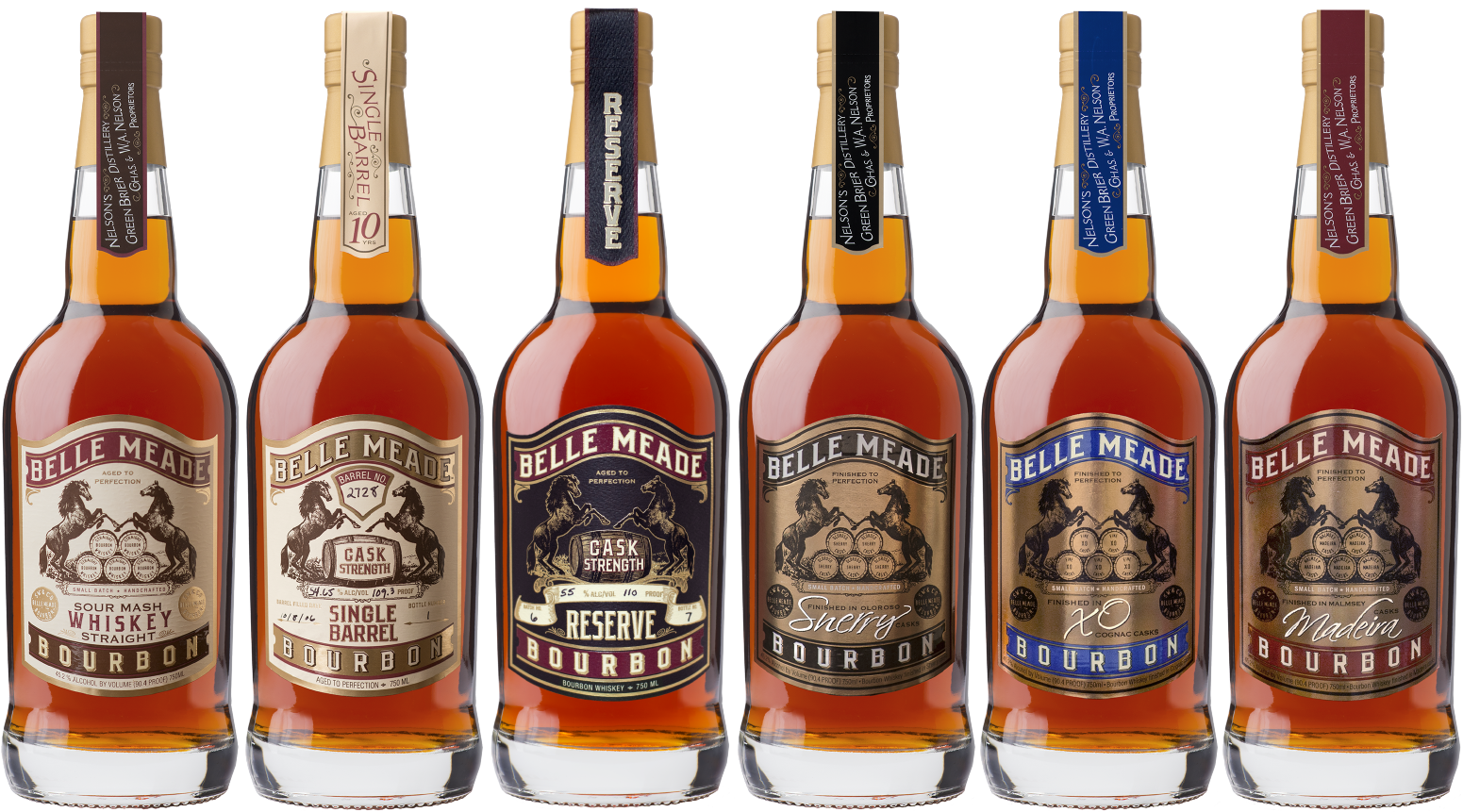 Belle Meade Bourbon Family of Products