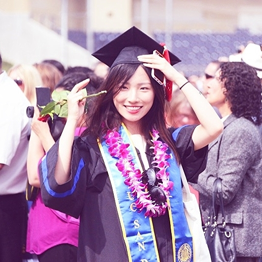 06/15/2014 Walked  UCSD 14' Ceremony with my fellow friends.