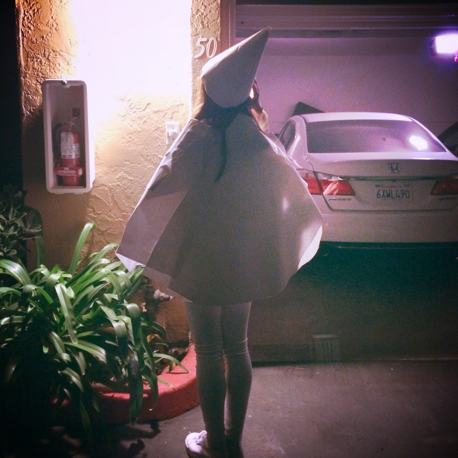 10/31/2014.                                          Being the first person who cosplayed Ida from the awesome  Monument Valley .