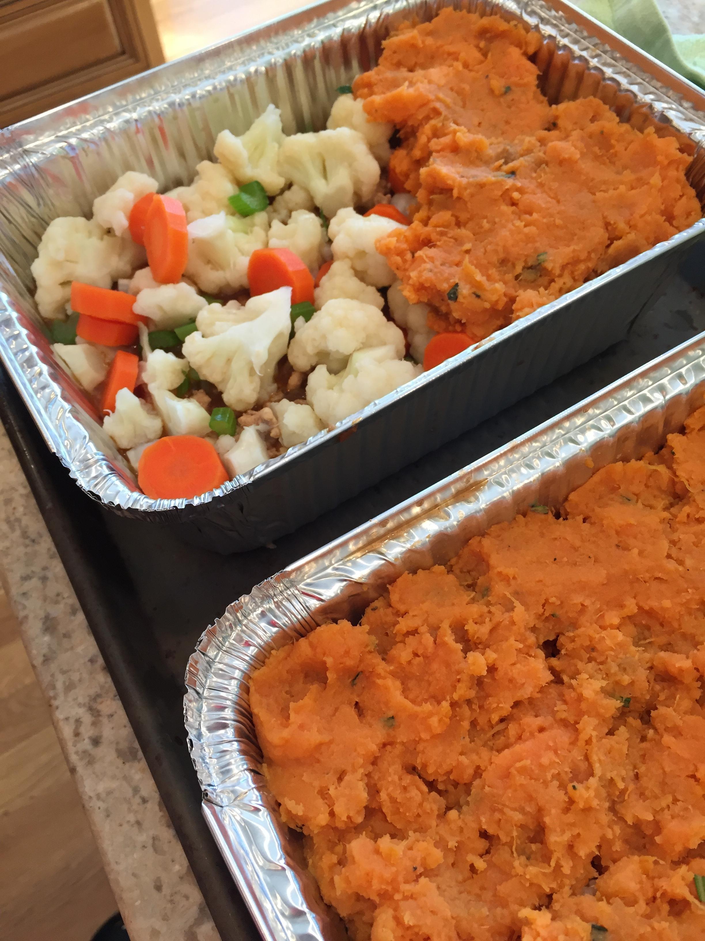 Copy of Turkey & Sweet Potato Shepherd's Pie