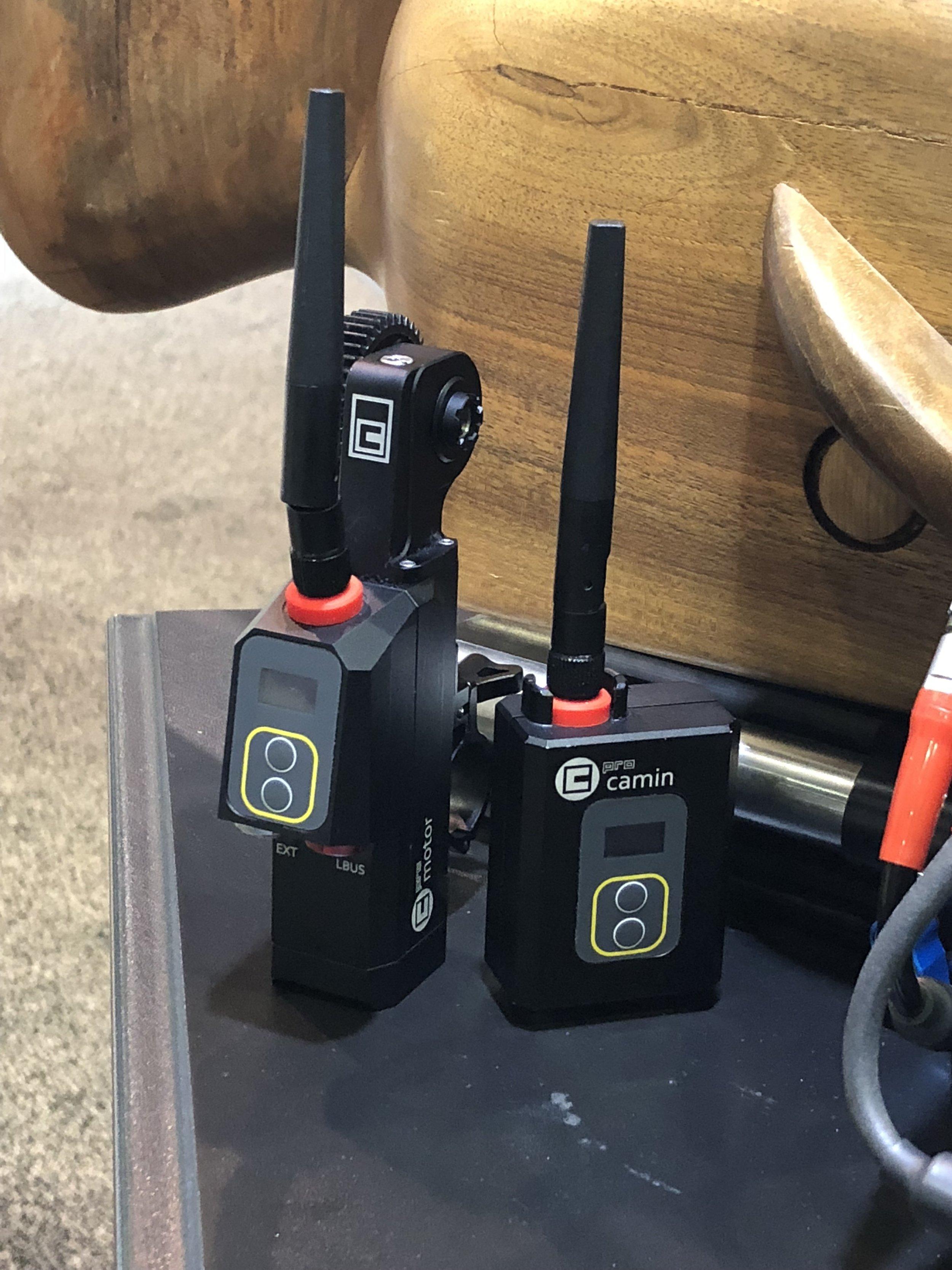 CMotion's new wireless kit, Camin