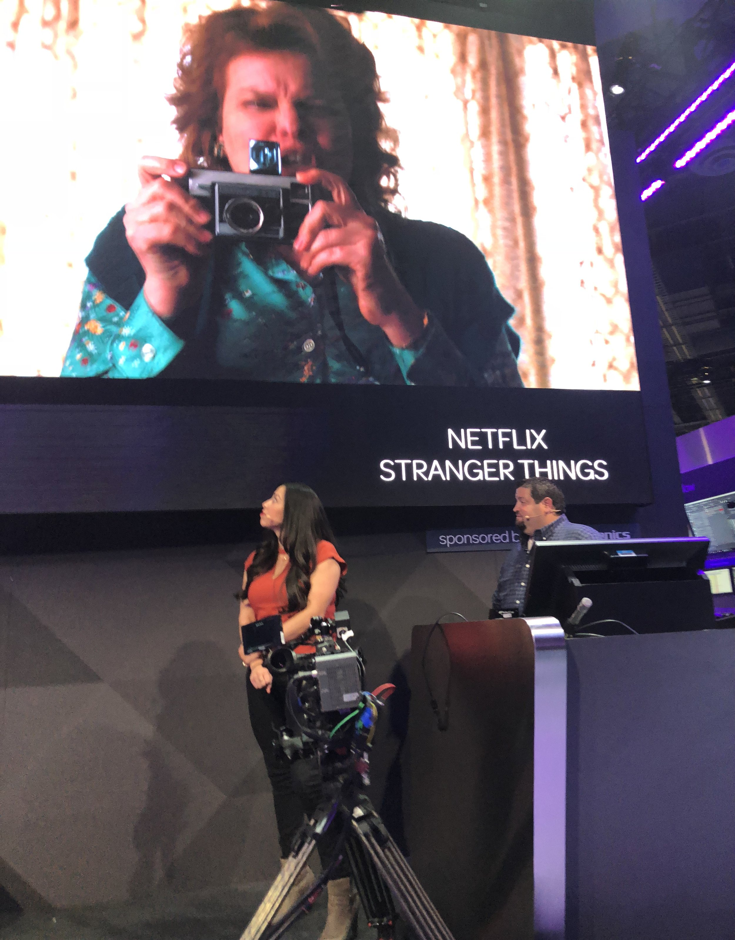 One of the editors from Netflix's 'Stranger Things'