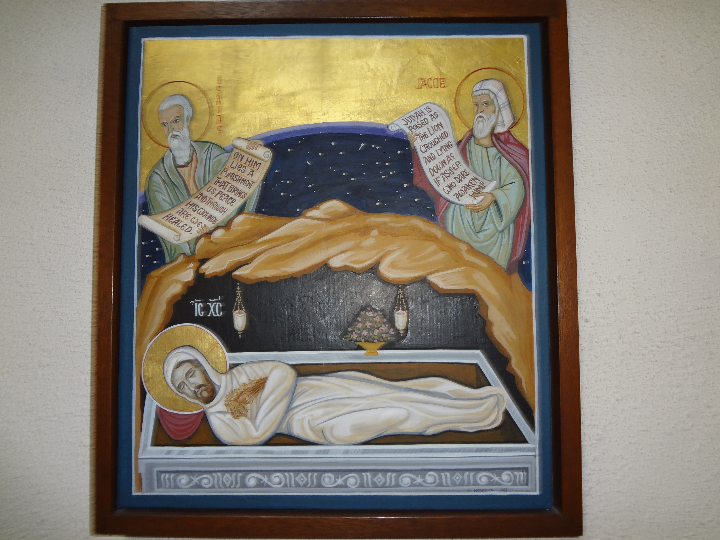 Station 14 - Jesus in the tomb