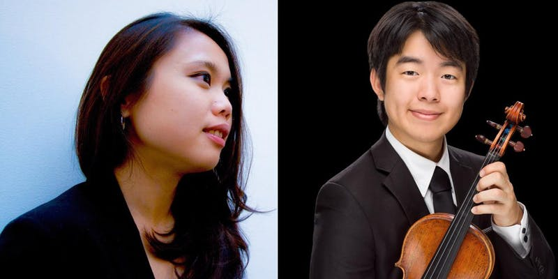 - ARTISTS: Brian Bak, violin; Hsin-Chiao Liao, pianoPROGRAM:Johannes Brahms Violin Sonata No. 1 in G majorJohannes Brahms Violin Sonata No. 2 in A Major, Op. 100--