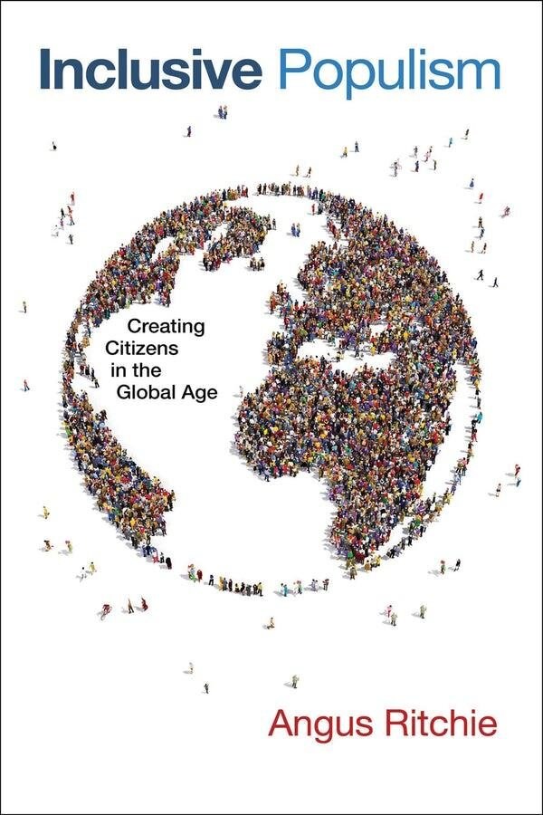 - The Reverend Dr Angus Ritchie speaks on his newest publication Inclusive Populism: Creating Citizens in the Global Age in the context of Sunday's Choral Eucharist. The Eucharist is followed by lunch in Revelation Gallery, at which copies of the book (at the discounted price of $20) are available and the author available for signing. Free, but registration is helpful for catering purposes.To register click here.