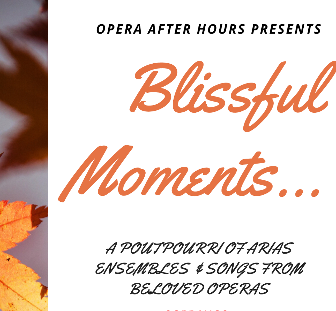 - Opera After Hours presents Maurizio Casa, Asuka Uchida, Cheylr , Sahoko Sato, Maggie O'Connell, Keiji Kitani, and Michael Pilafian in a concert of arias and ensemble pieces from beloved operas.Tickets $20For information and booking click here.