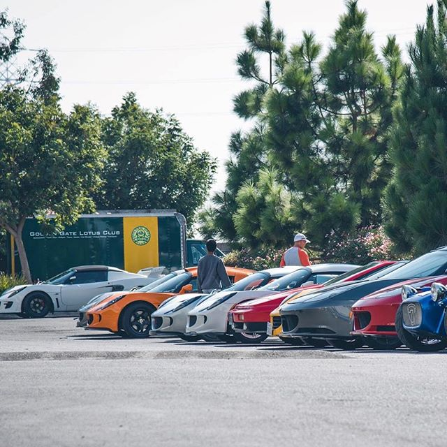 Credit to @trackspecautosports for the photo #lotus #elise #exige #gglc #goldenstate #norcal #lotus7 #evora #lotustalk #california