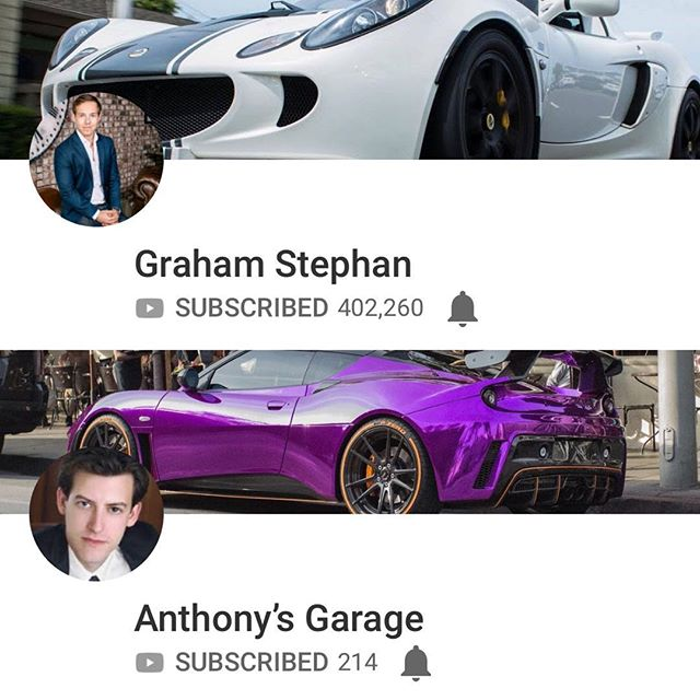Shout out to @anthonyunofficial and @gpstephan #subscrube #youtube #lotus #elise #exige #evora #car #racecar