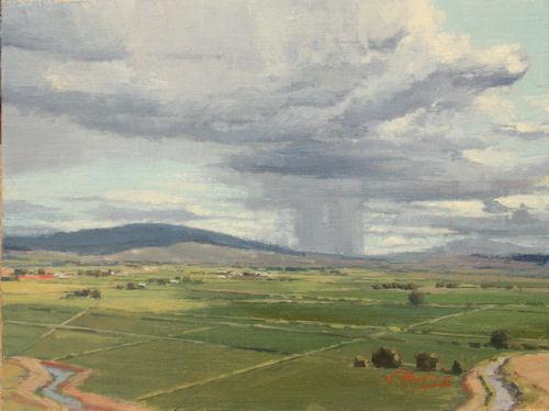Fertile Land, 12x16, Oil on Linen Panel