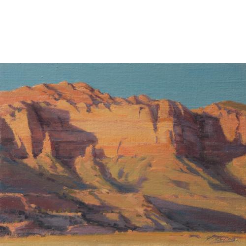 Cougar Mountain, 12 x 16, Oil on Linen Panel, Del Monte Fine Art