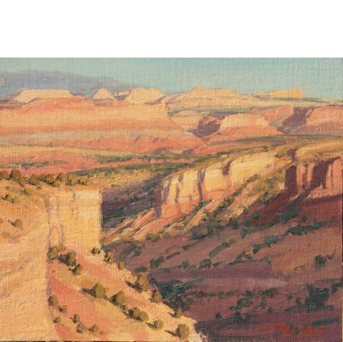 Uplift, 9 x 12, Oil on Linen Panel, Bingham Galery