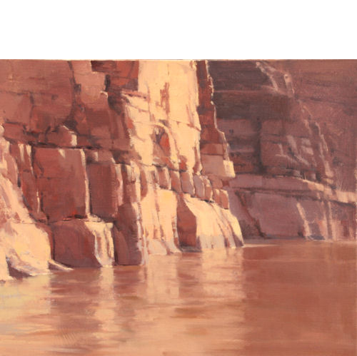 Calm Water Narrows, 20x24, Oil on Linen,  LaFave Gallery