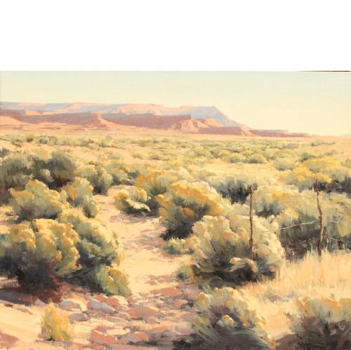 Virgin Flats, 24x30, Oil on Linen,  Illume Gallery
