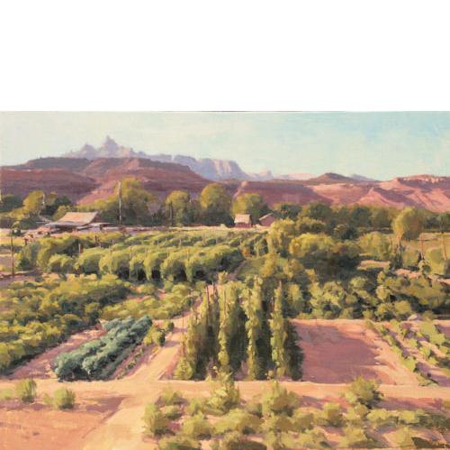 Market Garden, 18 x 24, Oil on Linen
