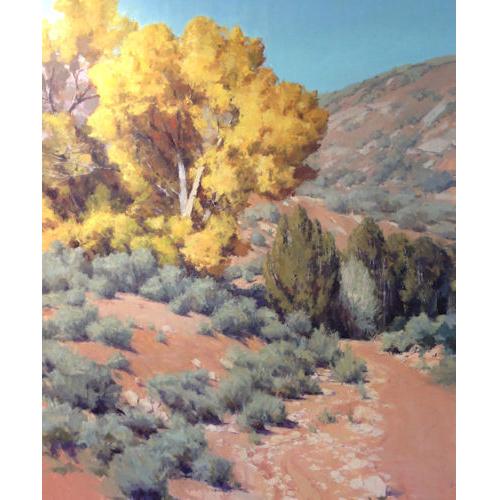 Autumn Arroyo, 60 x 50, Kate Starling Fine Art