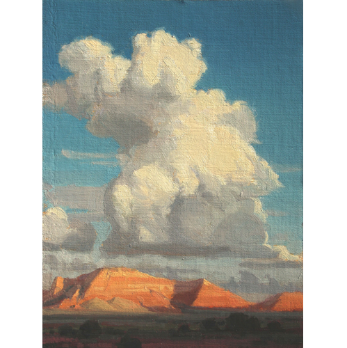 Evening Sky, 12 x 10, Settlers West Gallery