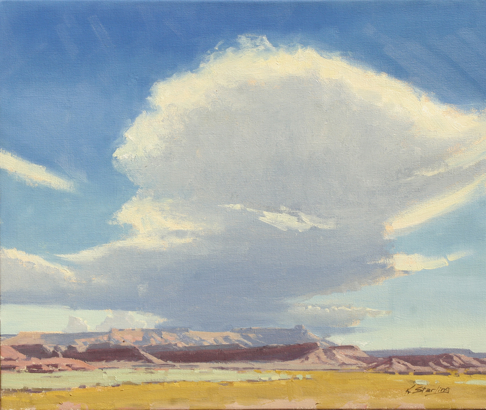 Cloud Over Gooseberry, 20x24, LaFave Gallery