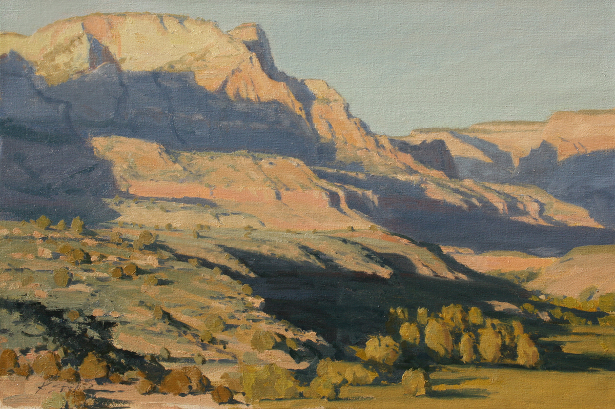 Evening Descending, 20x30, PAPA Steamboat Springs Exhibition