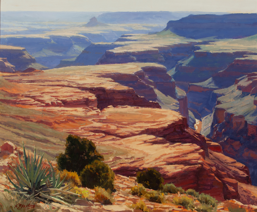 The Esplanade Grand Canyon  30x36