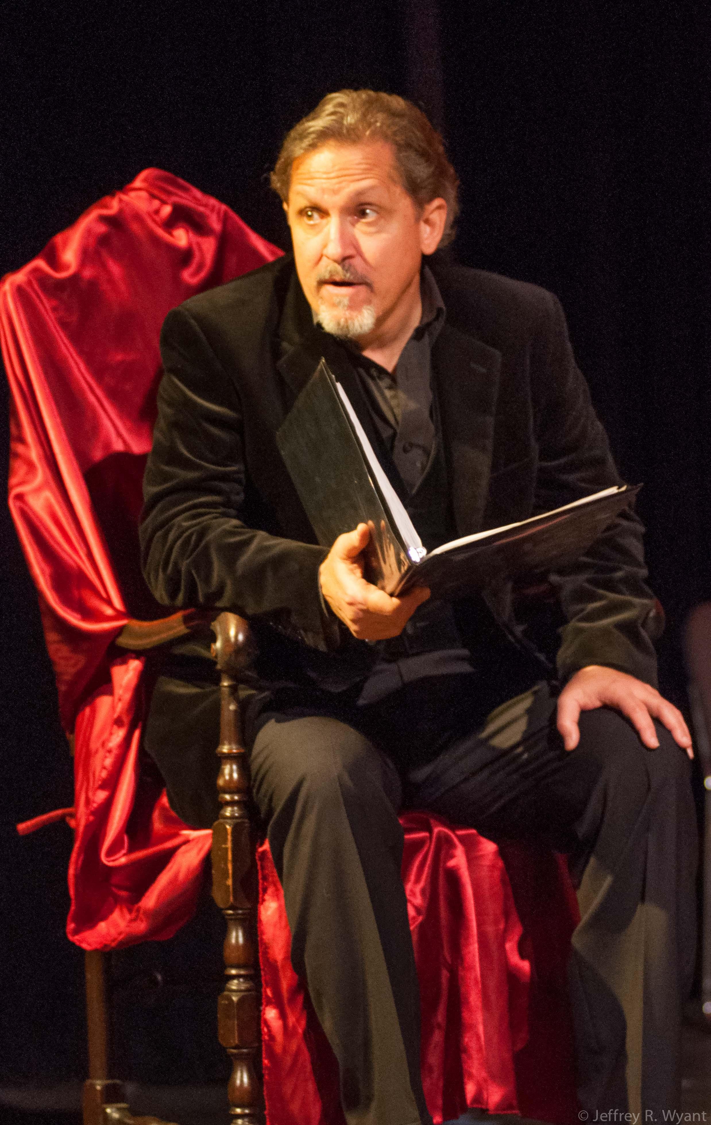 Larry Reina as Shakespeare