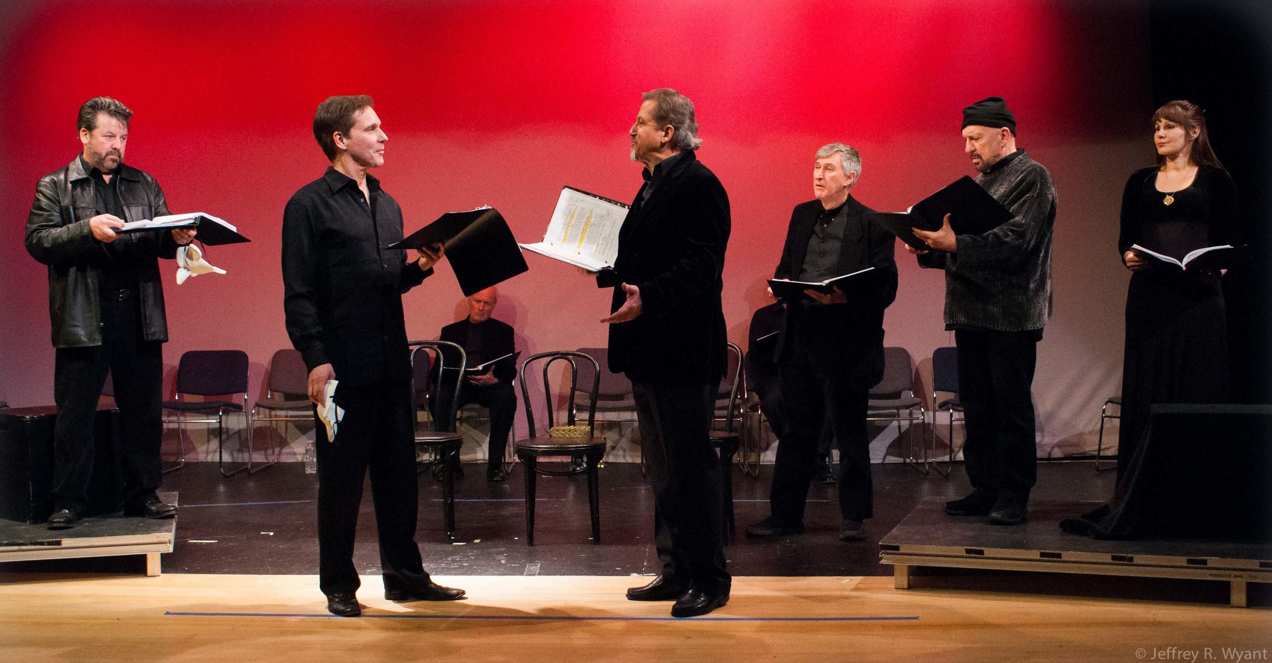 Allan Zeller, Miles Everett, Larry Reina, Damien Langan, and Tom Zingarelli.