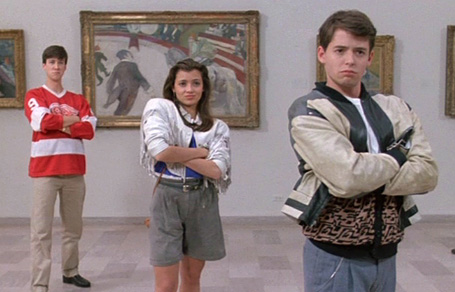 Ideally every museum visit would be a Ferris Bueller adventure but in reality, people need some prompts.
