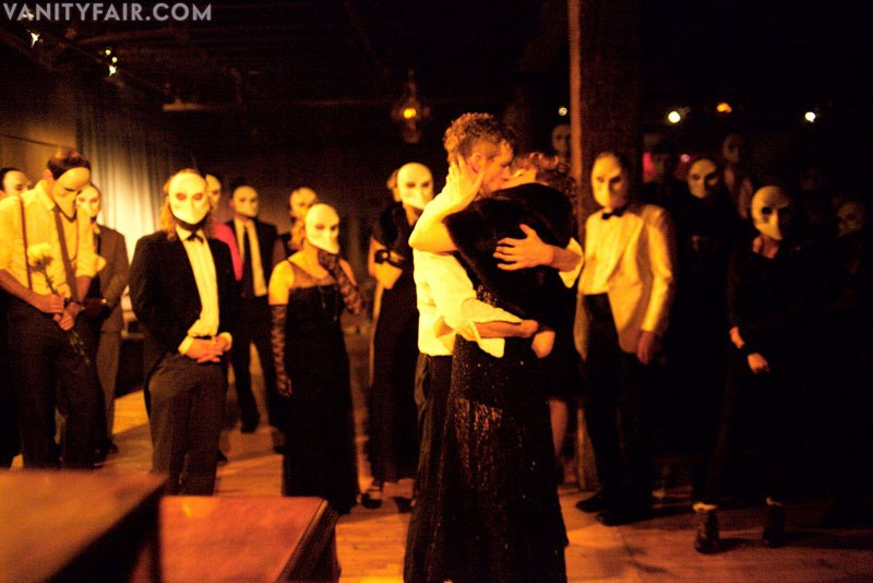 Sleep No More was largely about chasing interpretive dancers through a set.