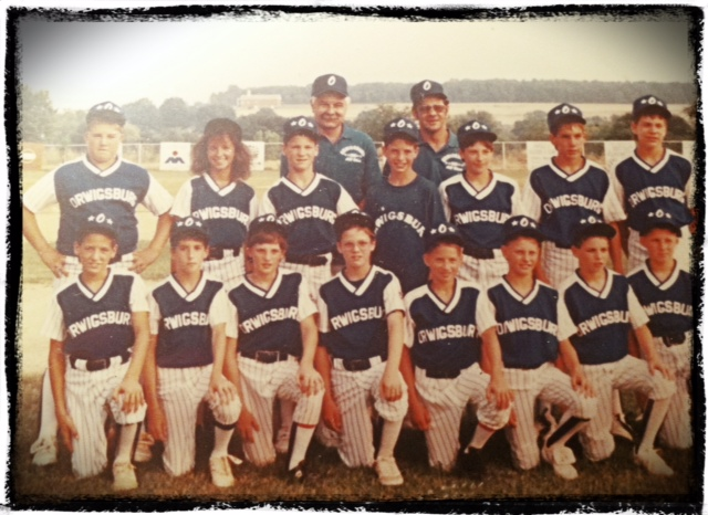 The 1988 Orwigsburg Little League All-Star Team