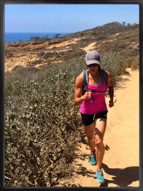 A beautiful day of trail running along Torrey Pines.