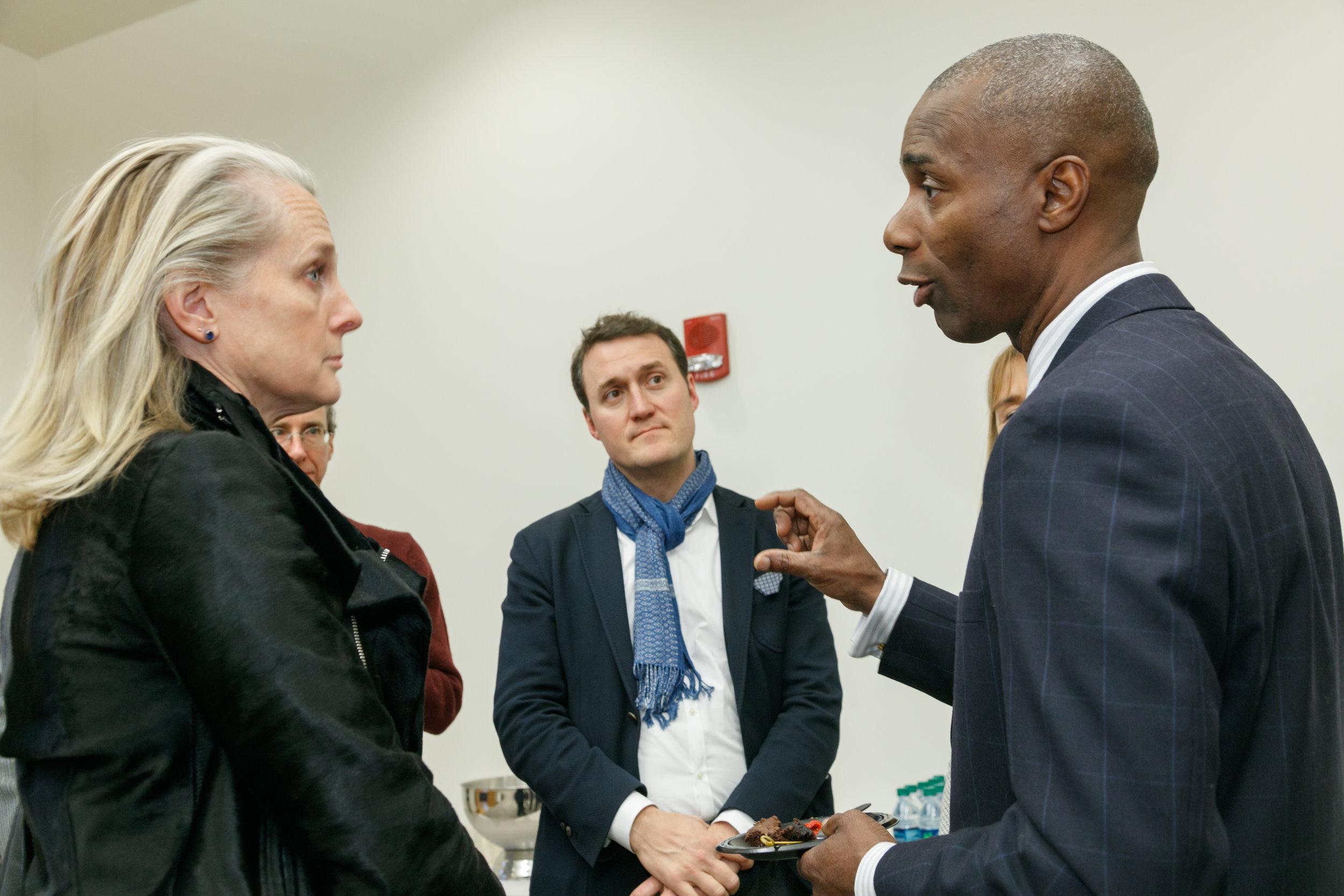 Special Guests- Ndume Olatushani and Piper Kerman, A.J. Zanyk - Photo Credit (Columbus, OH)