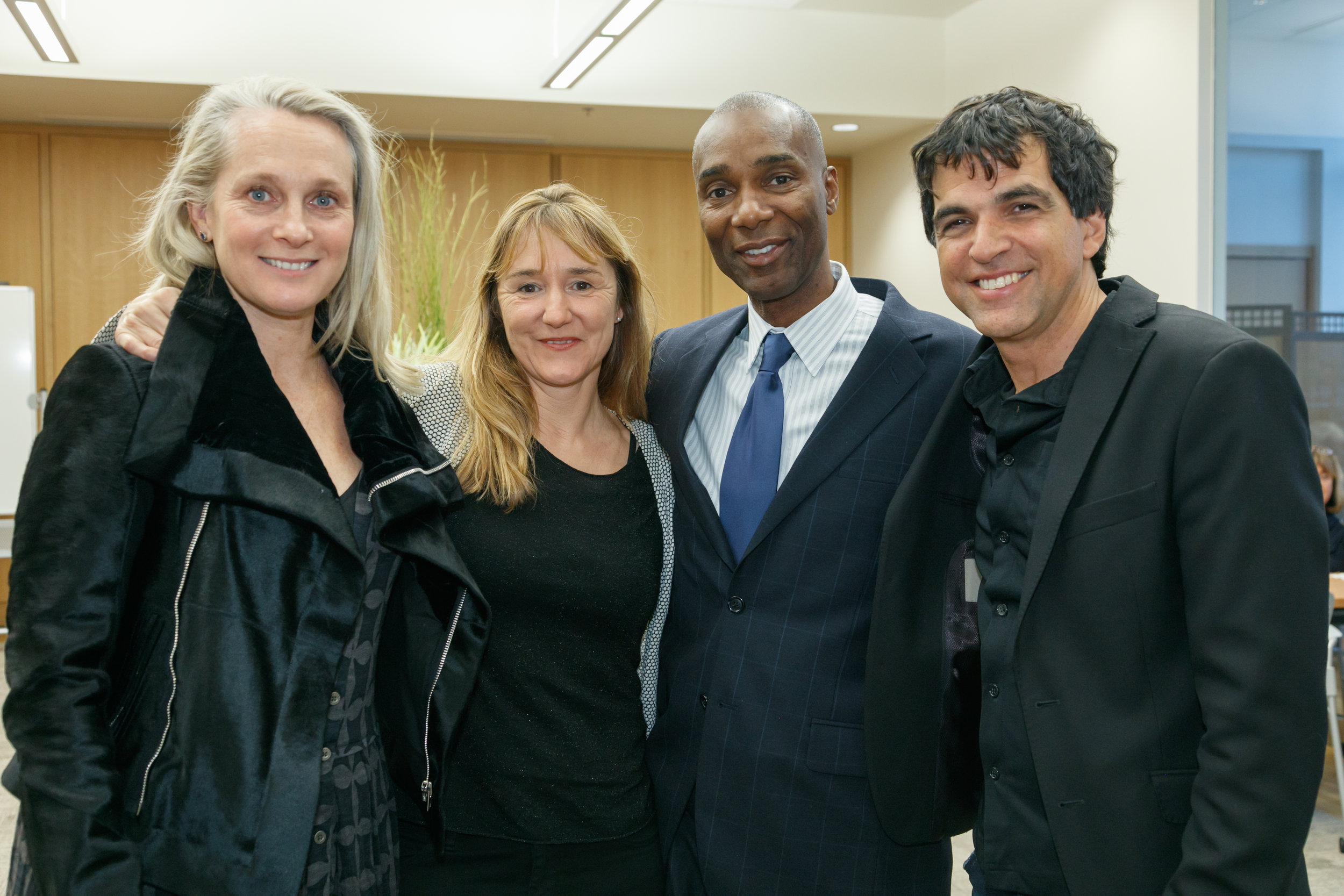 Patrick Chappatte and Anne-Frederique Widmann with Special Guests- Ndume Olatushani and Piper Kerman, A.J. Zanyk - Photo Credit (Columbus, OH)