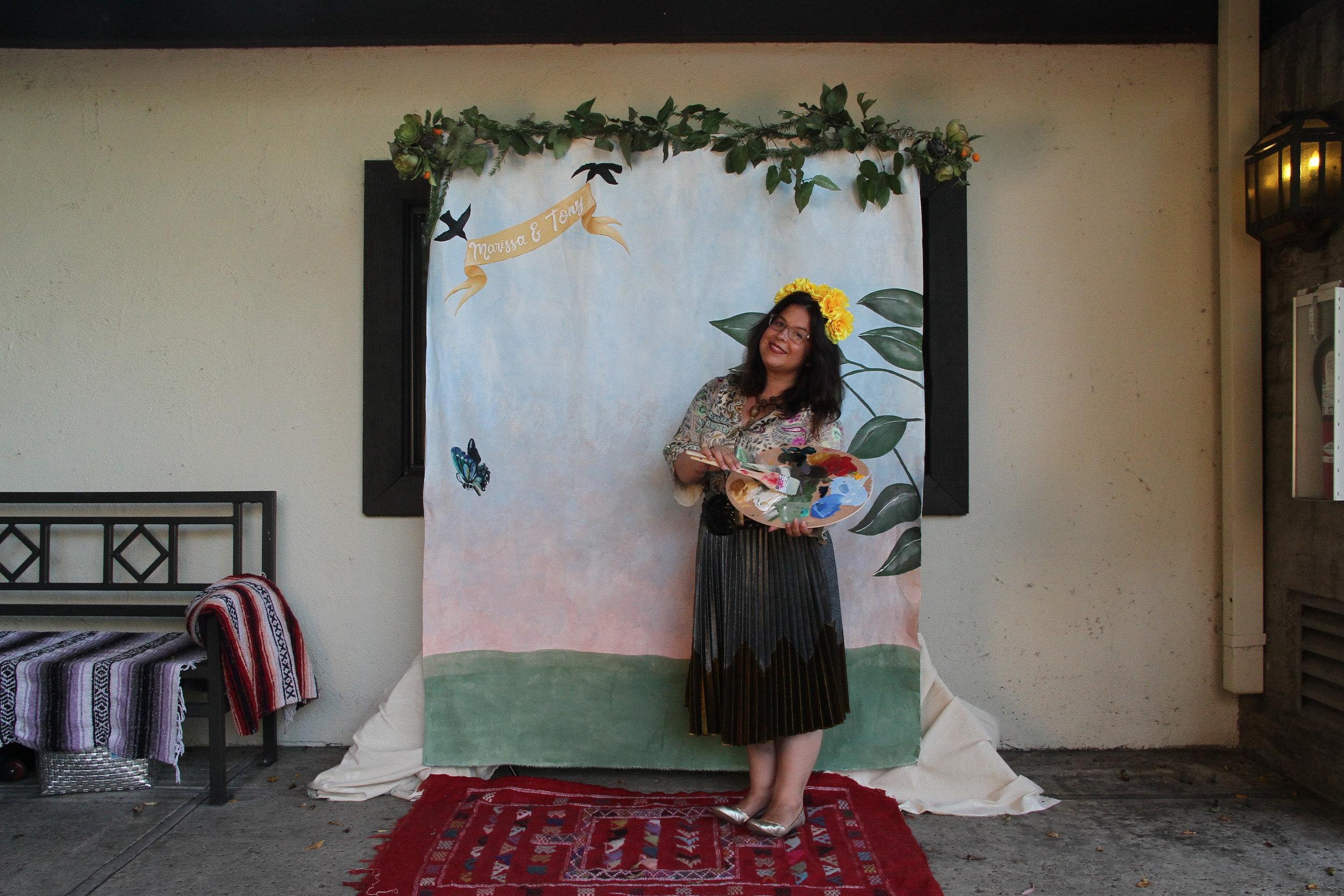 - DIY Photobooth - Frida Khalo Style Wedding