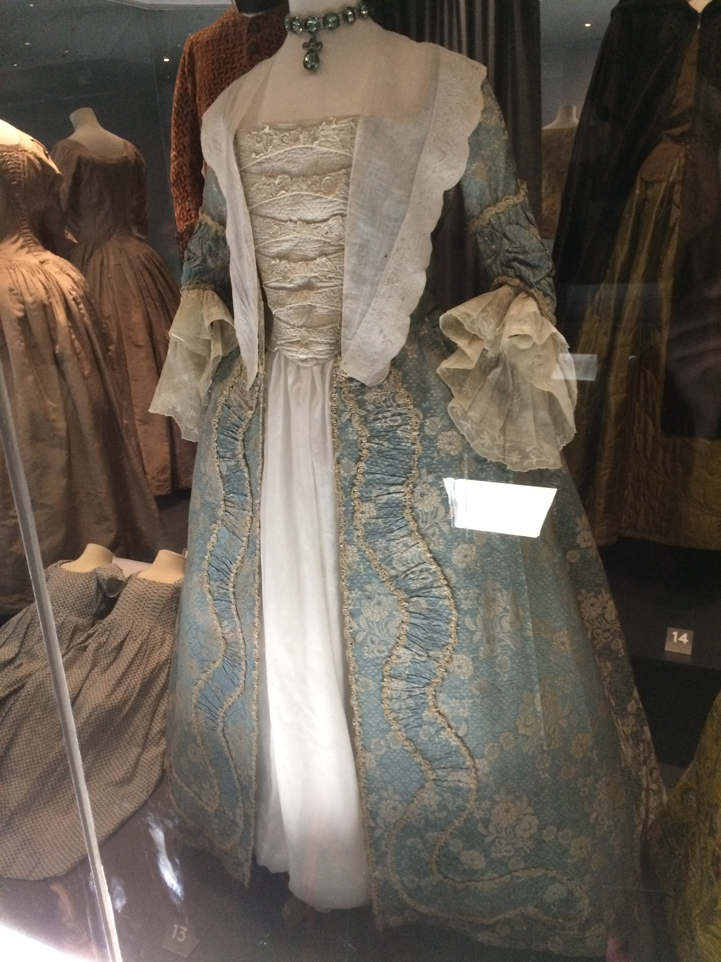 A gorgeous 18th century dress.