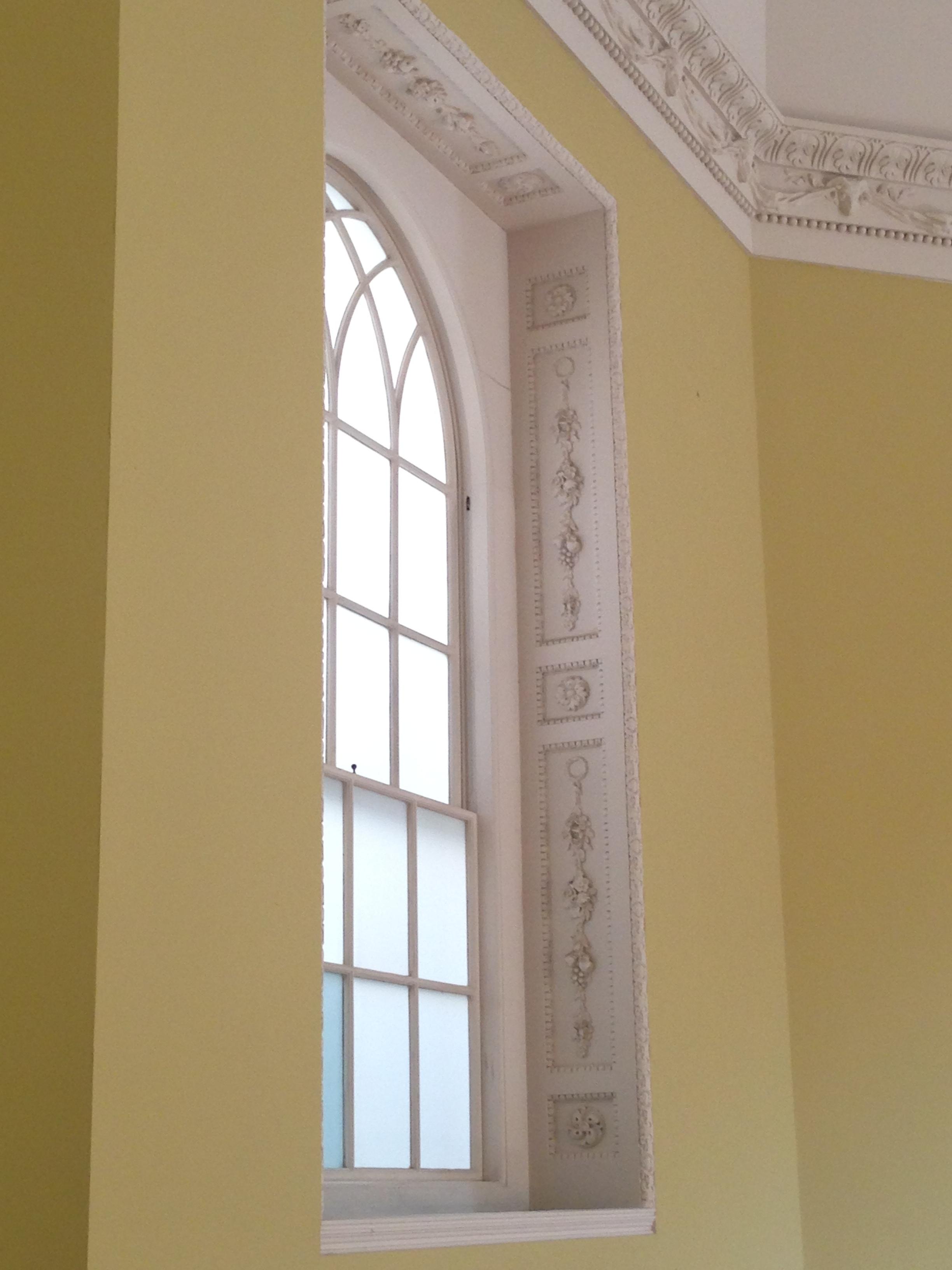 Window details.