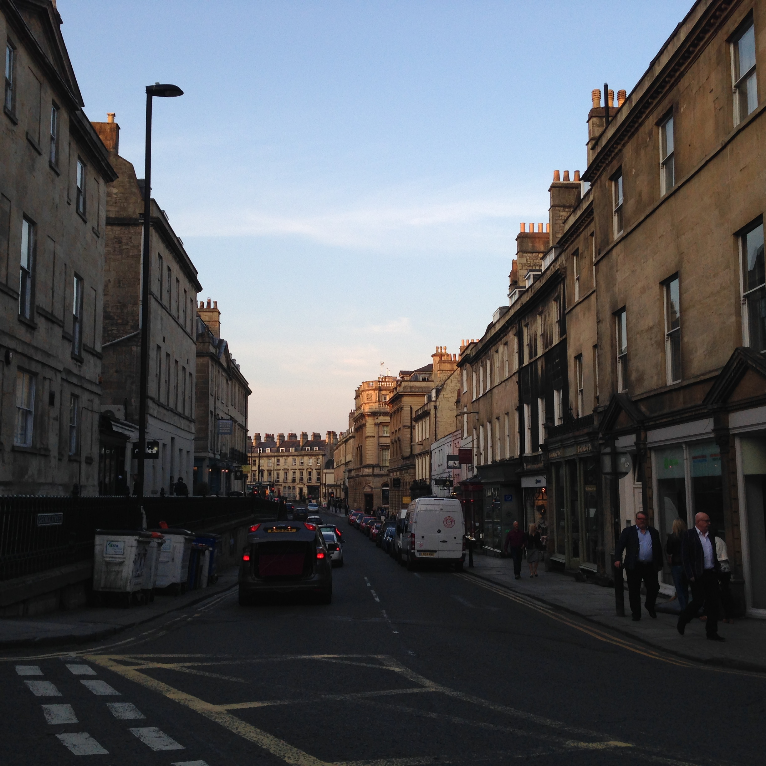 Another street in Bath.