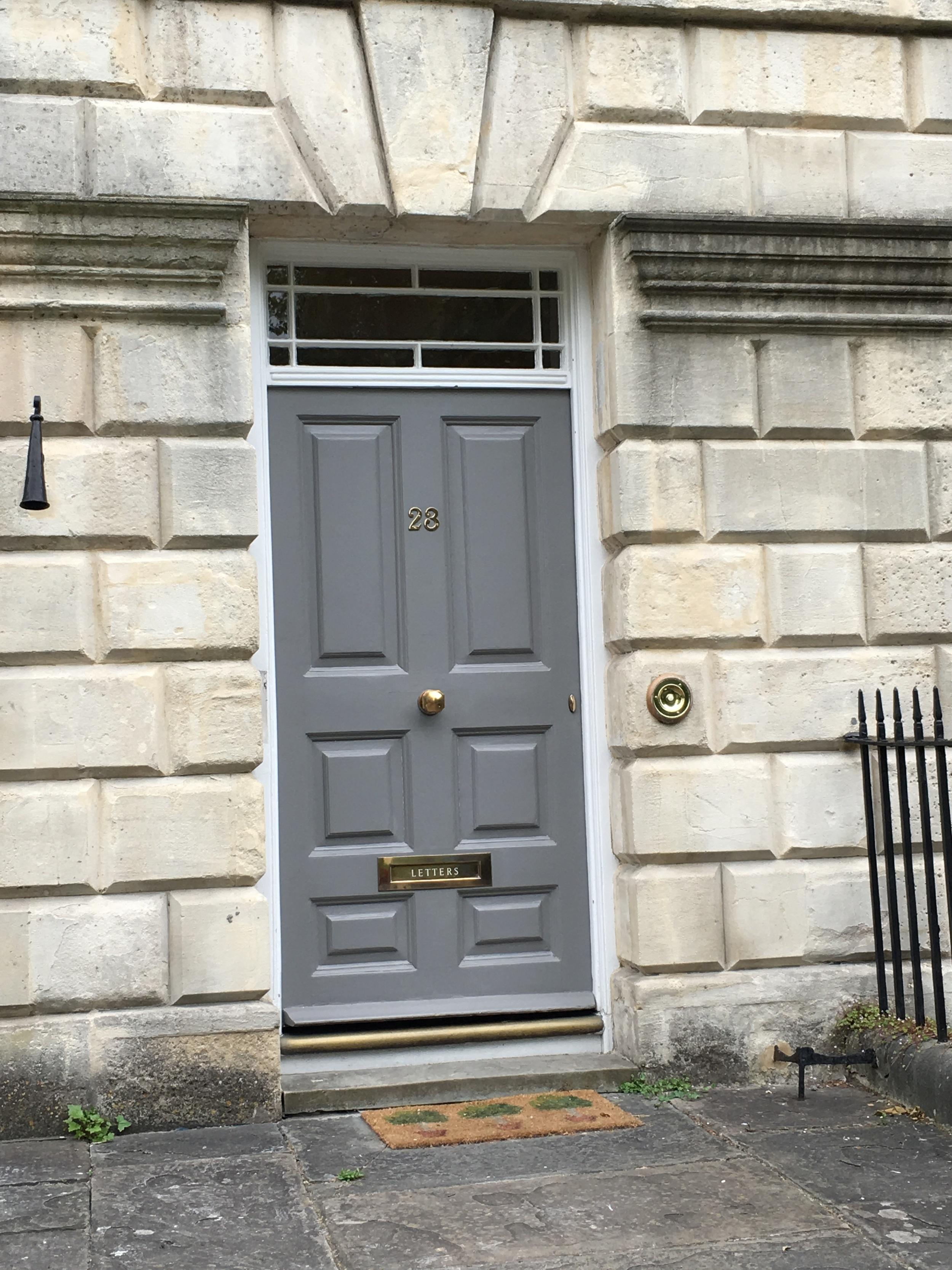 A door in Bath.