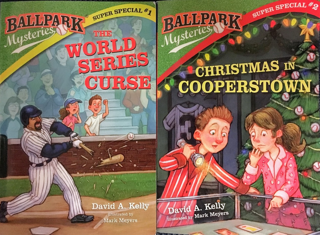 David A. Kelly's Ballpark Mysteries Super Special giveaway.jpg