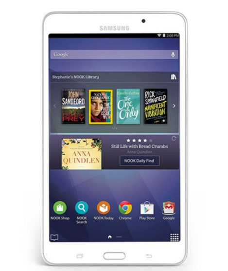 Samsung/Android Nook