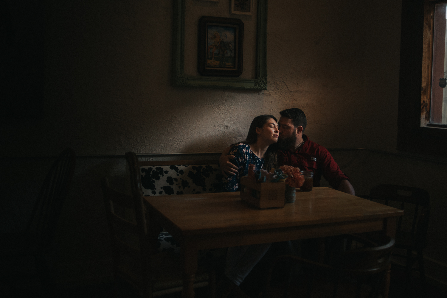I'm photographing the raw, emotive feelings in your intimate space. -