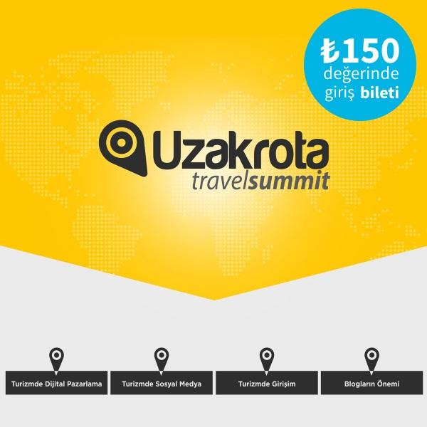 Uzakrota Travel Summit Bileti